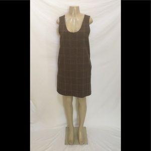 Harvé Benard Size 10 Glen Plaid Shift Dress
